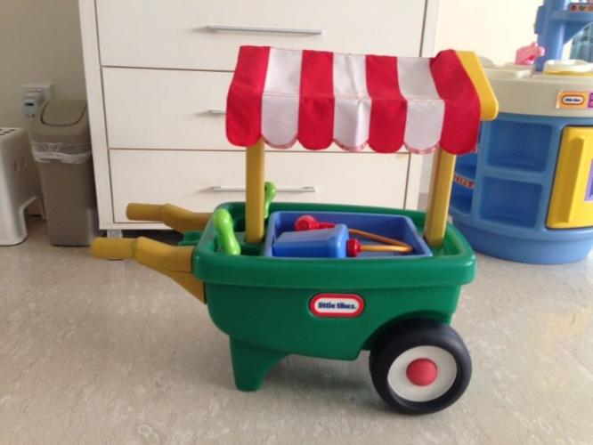 Used LITTLE TIKES Garden role play set