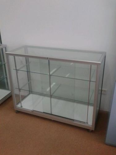 [USED] Lockable Glass Display Cabinet