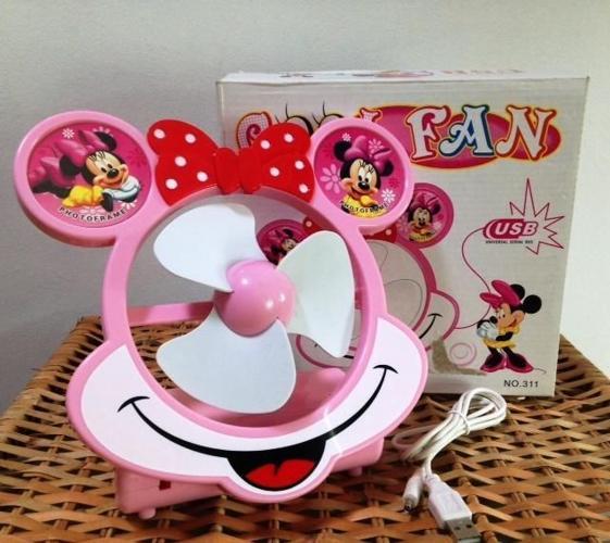 Used Mickey USB Fan