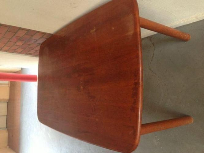 Used real wood dining table for sale - $15 only