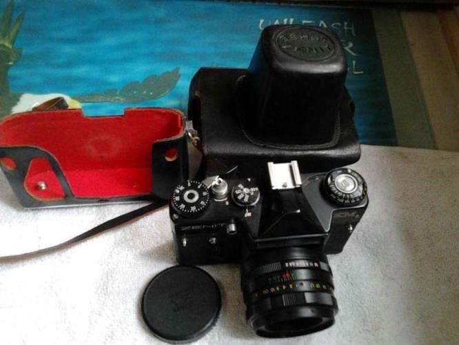 USSR Zenit EM SLR Camera