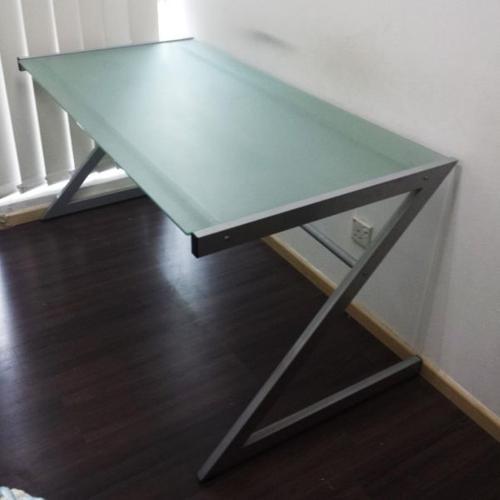 V Hive Office Glass Table For Sale In Kaki Bukit Road 3 East
