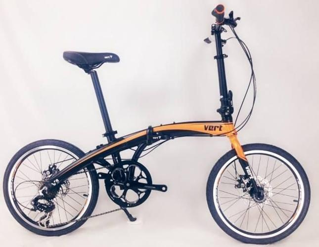 Vert V8 Aluminium Light Weight Foldable Bicycle