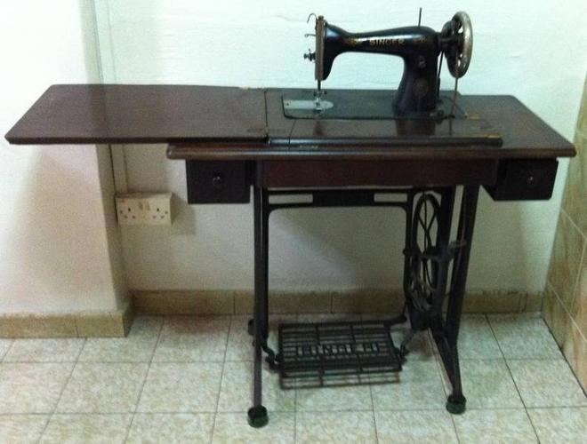 Vintage 40s Singer Sewing Machine For Sale In Changi Road East Inspiration Sewing Machine Repair Singapore