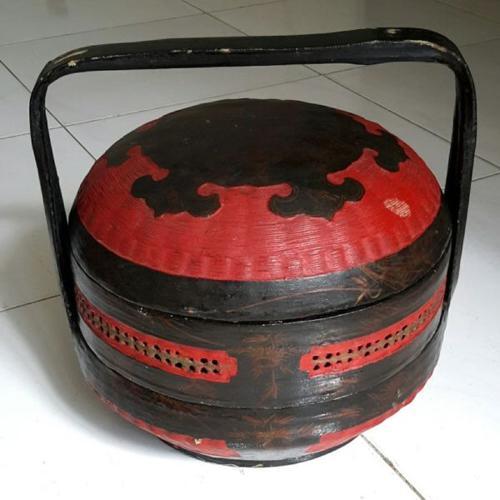 Vintage 3 pcs basket