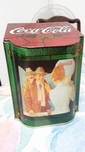 Vintage Coca Cola Coke Tin Metal Box