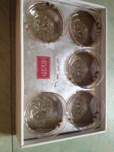 Vintage glass Delux gift set