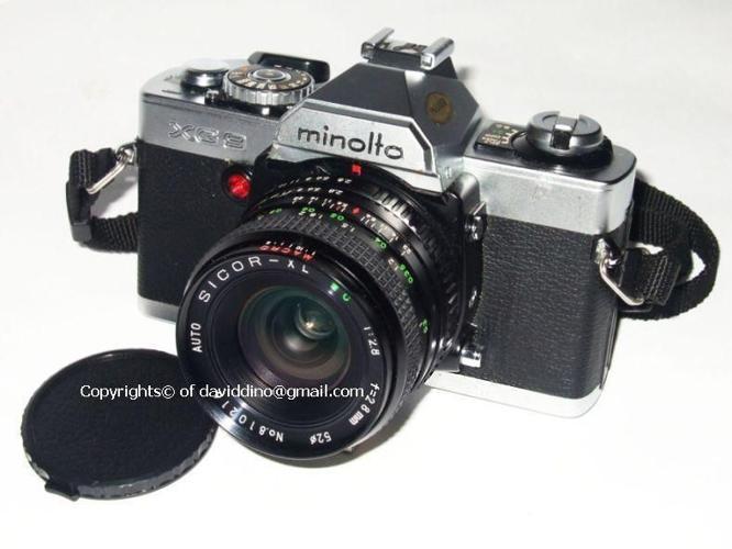 VinTage MiNoLTa XG 9 SLR FiLm CaMeRa & 4 Lens SuPeR
