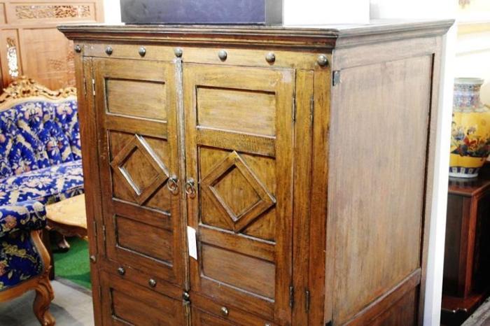 Vintage Wooden Cabinet & Console