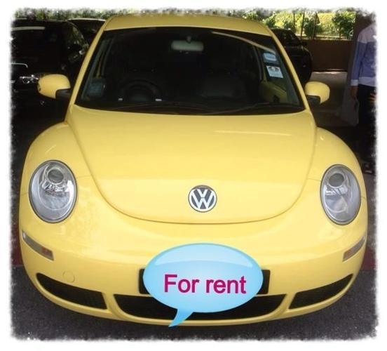 Volkswagen Beetle 1.6A for rent
