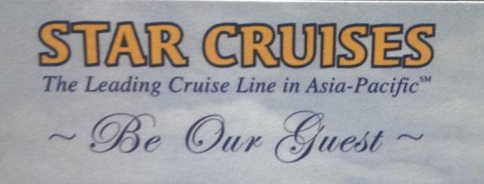 Voucher for 5 Nights Star Cruise for 2. Booking until