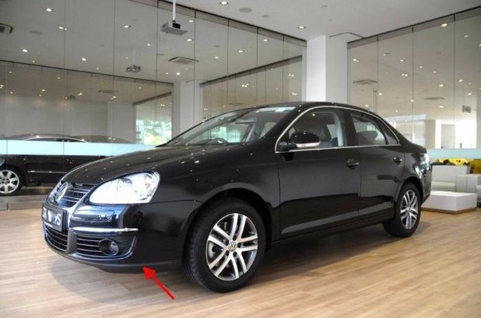VW Volkswagen Original Stock Front Lip Spoiler Jetta