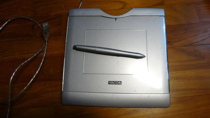 Wacom Graphire Tablet CTE-430 Drawing Manga Stylus