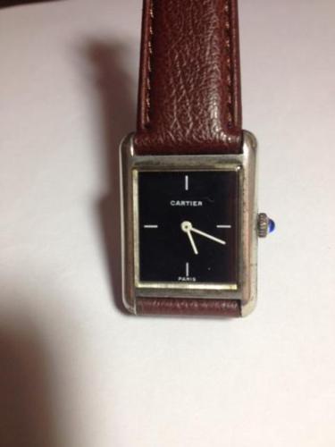 Watch-Vintage Cartier