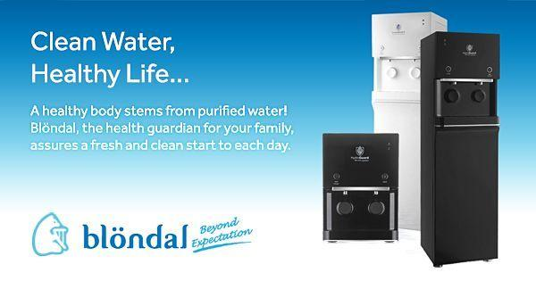 Water Dispenser w Pre-Installed Filtration Systems -