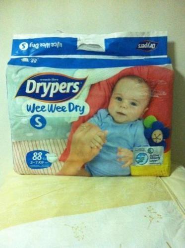 Weewee dryper diaper