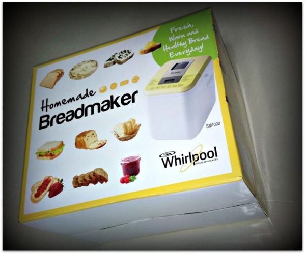 Whirlpool Breadmaker BM1000 (New)
