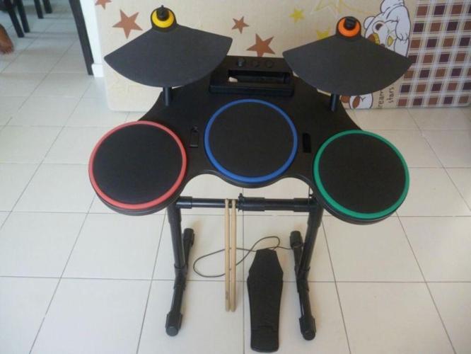 Wii Guitar Hero Drumset