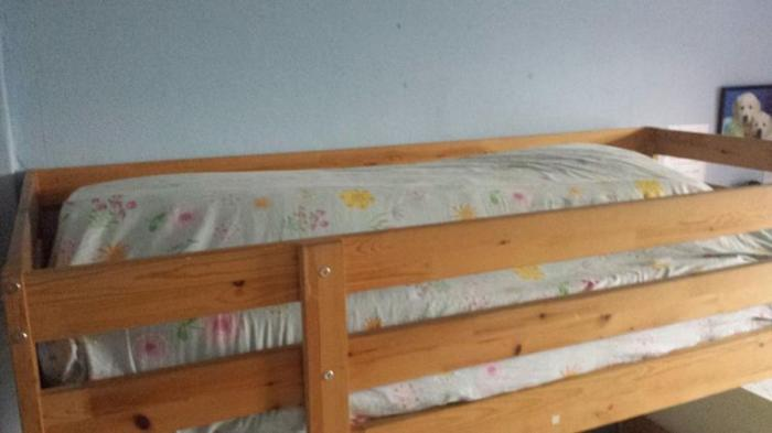 wooden bed bunk bed