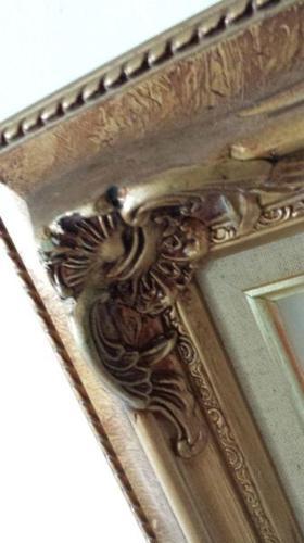 Wooden Frame- Gold