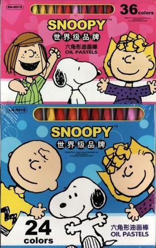 WOW SNOOPY Oil Pastels 24 at $4 26 at $5