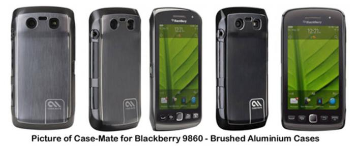 WTS : ACCESSORIES FOR BLACKBERRY 9860