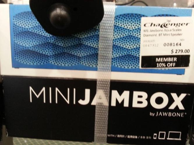 WTS brand new MINI JAMBOX by Jawbone Wireless Bluetooth