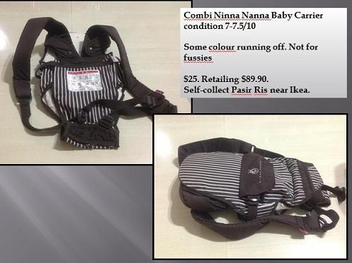 WTS Combi Ninna Nanna Baby Carrier