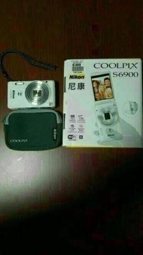 WTS nikon cool pix s6900 (Like new)
