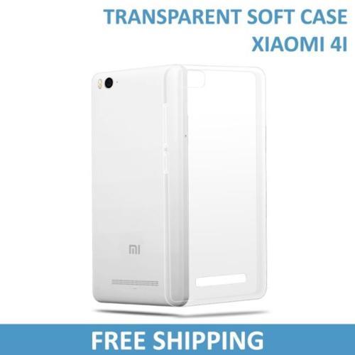 Xiaomi 4i Transparent Case / Cover
