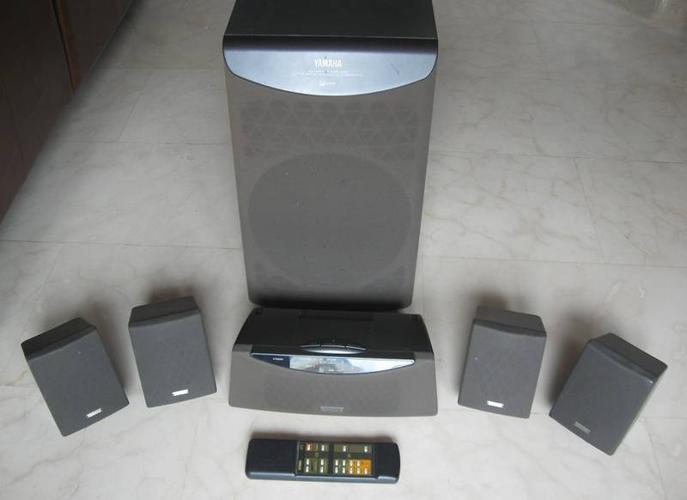 Yamaha 6-Channel Amplifier HTS