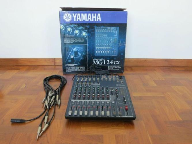 YAMAHA MG 124 CX MIXER / 2 years Old / URGENT CAUSE