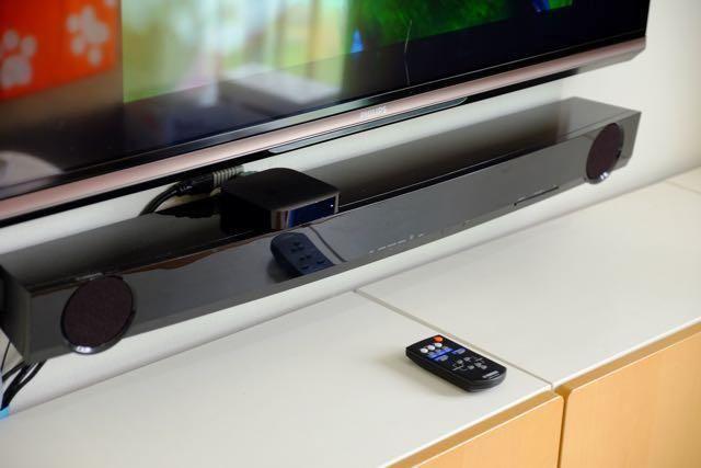 yamaha yas 101 tv soundbar with remote 300 obo for sale. Black Bedroom Furniture Sets. Home Design Ideas