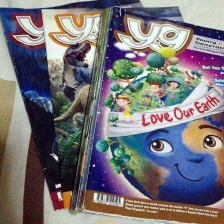 Yg Young Generation ! Kids magazine 8 issues $4 Self