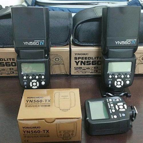 Yongnuo Seepdlite YN560 IV Bundle