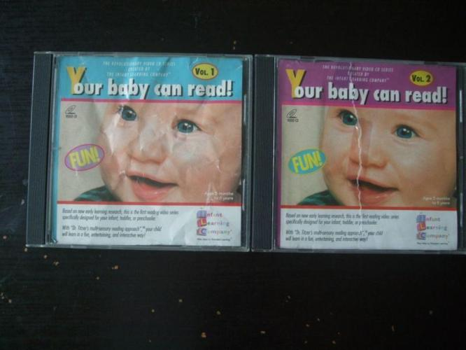 Your Baby Can Read VCD (Vol 1 - 3)