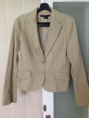 Zara Khaki Blazer Jacket