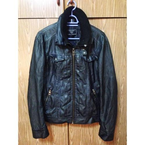 Zara Men Leather Jacket
