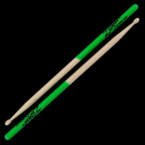 Zildjian 5A Maple Sticks Green Dip