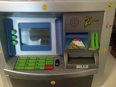 Zillionz personal ATM kids piggy bank