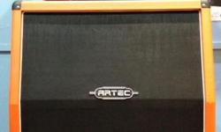 ARTEC AMP AND SPEAKER GOOD FOR ELECTRIC GUITAR!! G200R Amp Head - 200W(RMS) Guitar Amplifier - Clean Channel (Bright S/W, Volume) - Drive Channel (Gain, Level, Boost) - Two Input jack (Hi & Low) - 3 Band EQ - Spring Reverb - Aux input for MP3 / CD. Line