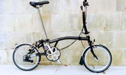 Black M6L New 2017 Brompton bike. Six speed. Save apprx S$500 off the shop price. This bike is brand new and has never been ridden, I have all the original papers and the original box. The warranty is an online one which I will help you activate. 2017