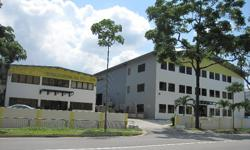 APPROVED NEA & SCDF FACILITIES FOR PART 3-STOREY SINGLE USER DETACHED FACTORY. Type of product to be store will be subject to authorize approval. NEA Licensed Toxic Industrial Waste Collector and Proposed Chemical /Petroleum Store in the part 3-storey