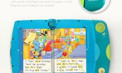 Stories come to life with the tap of the Magic Pen. Offering the collectible award-winning LeapPad Learning System in working and used good condition. Message me @ 96174339 if interested. Cash on collection at Chai Chee Road. No extremely low price offer