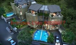 Brand New Pair of Semi D , Deigned by award winning architect. Modern Contemporary Design ,Em comping every detail aspect required for family , from granny room , pool , home lift , shelter car pouch , spacious living , all en suite rooms and nice view on