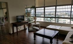 LUXURIOUSLY FURNISHED PENTHOUSE SERVICED APARTMENT AT RIDGEWOOD CONDOMINIUM. with three double bedrooms and two bathrooms. full condo facilities - swimming pool - tennis courts and gym daily maid cleaning cable television and wifi 24hr security fully