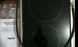 2 x Vitro Ceramic (1 x 1200W, 1 x 1700W) 2 x Residue Heat Lamp Electric Supply AC230V With Valid Warranty