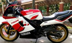 Powerful 2 stroke Sports Bike -COE Expiry Date : 16-04-2021 -Road Tax Expiry Date : 15-10-2015 -New Chain & Sprocket -New Power Valves -New Tyres etc -All recently changed 1 Month Ago (APRIL 2015) -Reinstated ORIGINAL Paintwork. -Excellent Outlook and