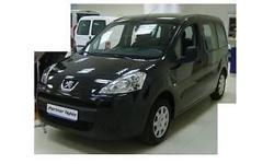 January 2013 Peugeot Partner 1.6 Turbo. Black. Done