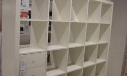 I want 1-2 units of Expedit bookcase, preferably white